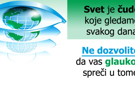 Svetska nedelja glaukoma (10-16.03.2013.)