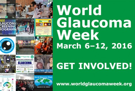 World Glaucoma Week (6-12 March 2016)